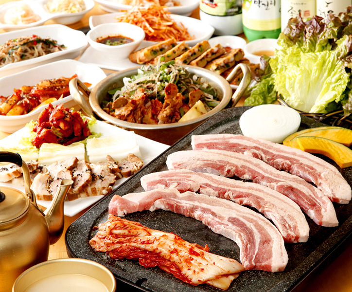 選べる焼肉 & 鍋コース